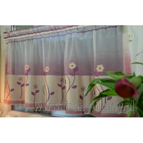 00469 Zazdrostka - haftowane kwiatki /10cm