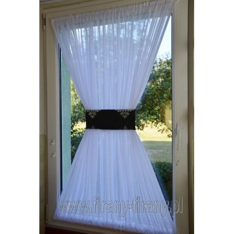 00513 Firana - zazdrostka na okno dachowe z opaską