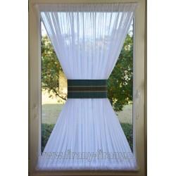 00515 Firana - zazdrostka na okno dachowe z opaską