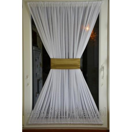 00517 Firana - zazdrostka na okno dachowe z opaską
