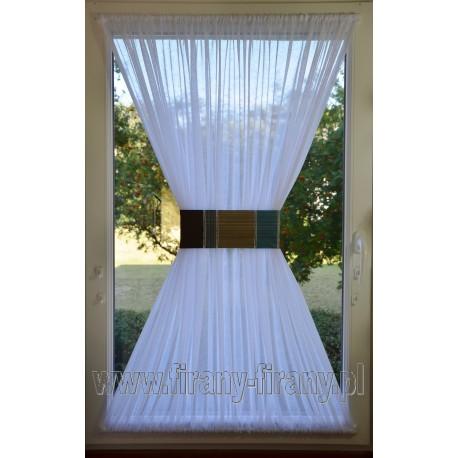 00519 Firana - zazdrostka na okno dachowe z opaską