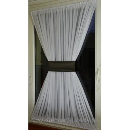 00520 Firana - zazdrostka na okno dachowe z opaską
