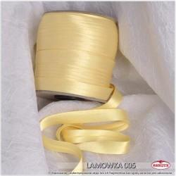 Lamówka złota 005