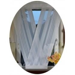 00643 Panel V-ka z plexi Biała