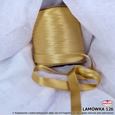 Lamówka nr 126 - odcień złota