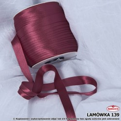 Lamówka nr 139 - bordowa