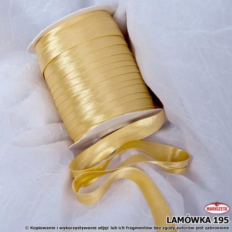 Lamówka nr 195 - odcień złota