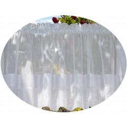 00767 Zazdrostka woal + doszycie pasek biały
