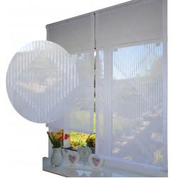 00773 Panel prosty Biały HAFT z plexi