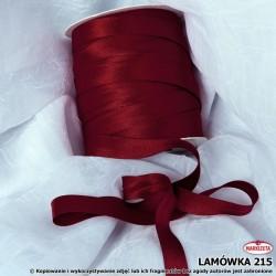 Lamówka nr 215 - bordowa