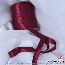Lamówka nr 216 - bordowa