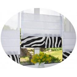 00788 Panel zakładkowy z listwą Zebra i plexi