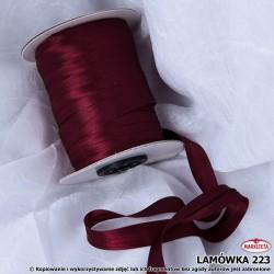Lamówka nr 223 - bordowa